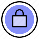 interface, lock, password, ui icon
