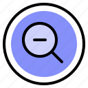 interface, out, ui, zoom icon