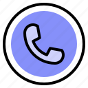 call, interface, phone, ui