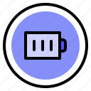battery, interface, power, ui icon