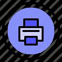 interface, print, printer, ui