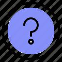 faq, interface, question, ui