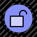 interface, security, ui, unlock