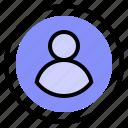interface, login, ui, user