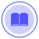 book, interface, reading, ui