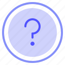 faq, interface, question, ui icon