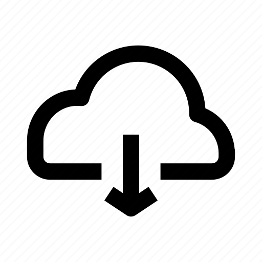 cloud, download, internet, ui, ux icon