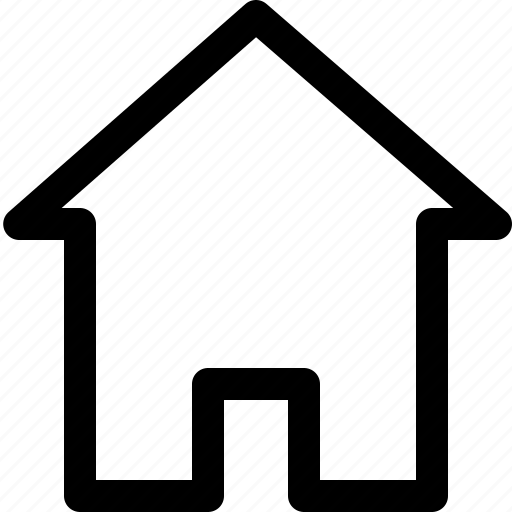 building, estate, home, house, interface, real icon