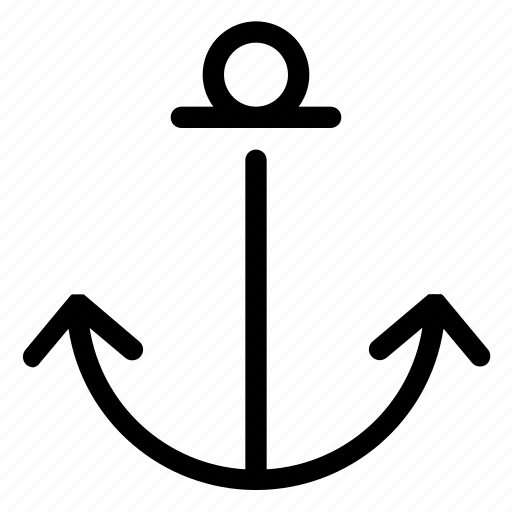 anchor, interface, ui, user interface icon