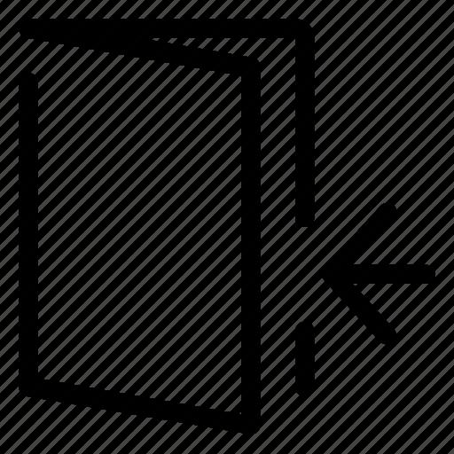 door, enter, exit, interface, ui, user interface icon