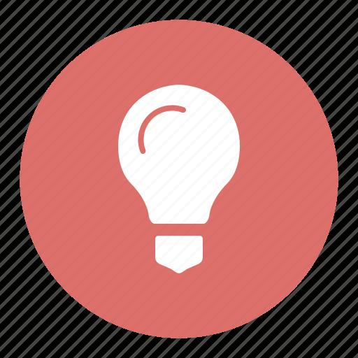 bright, bulb, idea, light, source icon