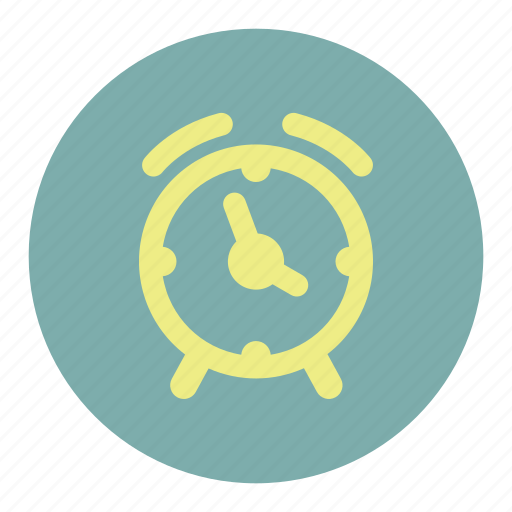 alarm, clock, watch icon