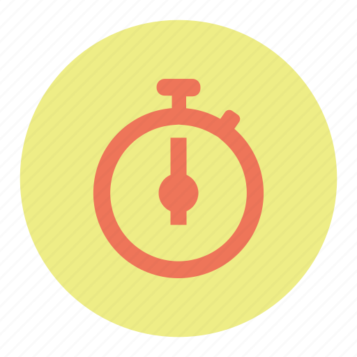 chronometer, stopwatch, watch icon