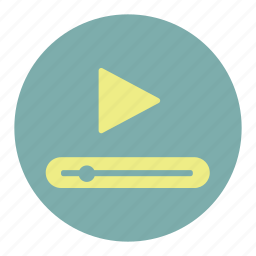 media, multimedia, music, play, player, tube, video icon