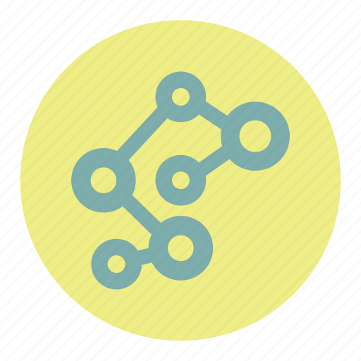 connetcion, graph, network, social, tree icon