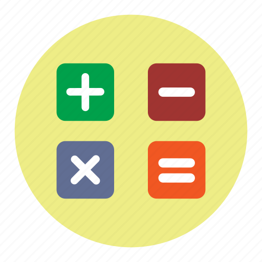 calculation, calculator, finance icon