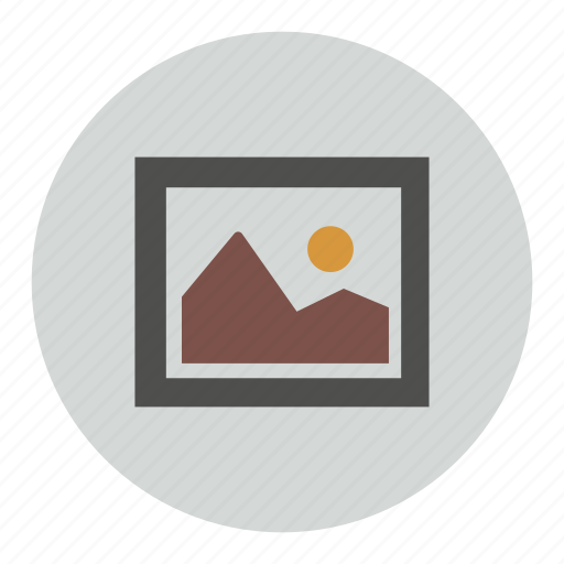 frame, gallery, image, photo, picture icon