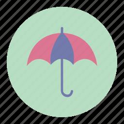 protection, rain, rainy, umbrella icon