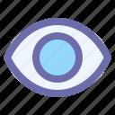 eye, eyeball, lens, vision, watch