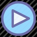 audio, media, play, player, video