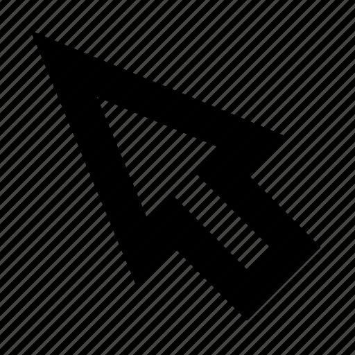 arrow, click, cursor, mouse, navigation, pointer, ui icon