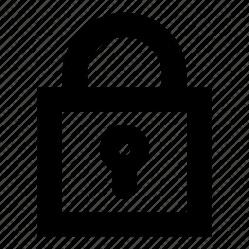closed, denied, lock, locked, no access, no entry, protection icon