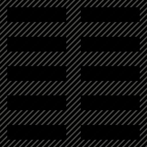 column, columns, editor, format, grid, text, type icon