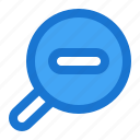 glass, interface, magnifying, search, user, zoom
