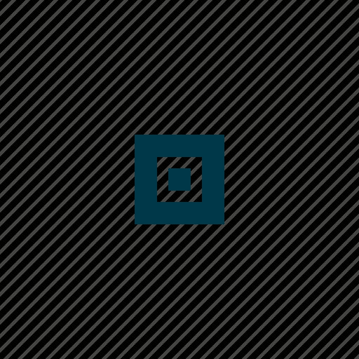 box, check, choose, dot, option, test icon