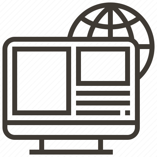 Interface, device, webpage, web icon
