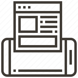 device, interface, web, webpage icon