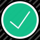 check, mark, navigation, ok icon