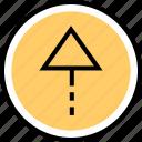 menu, nav, navigation, point, up icon