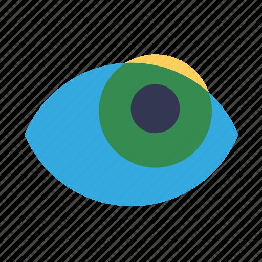 eye, interface, usability, user icon