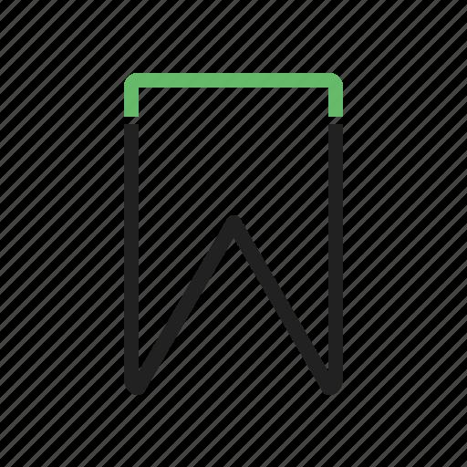 bookmark, favorite, notepad, paper, sticker icon