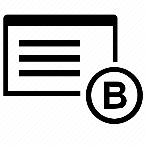 application, b, program, side, window icon