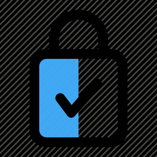 administrator, lock, locked, secure icon