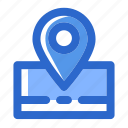location, map, navigation, pin, pointer, sign, ui icon