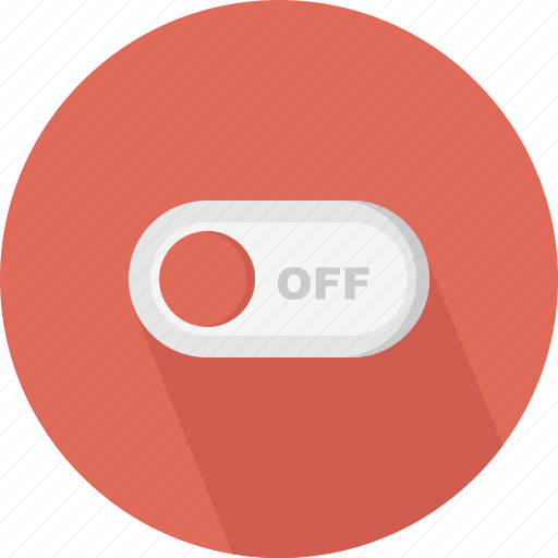 control, off, switch, turn icon