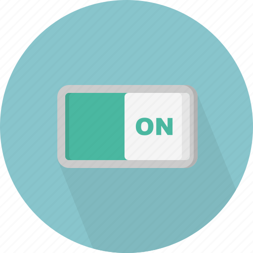 control, on, switch, turn icon