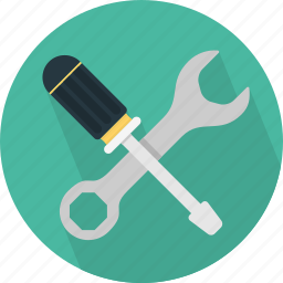 configuration, preferences, repair, screwdriver, settings icon