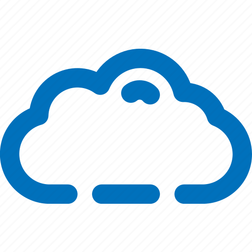 cloud, database, server, weather icon