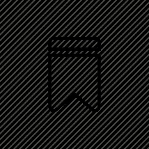book mark, bookmark, check, favourite, like, mark icon