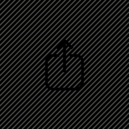 arrow, arrows, direction, share, up, upload, uploading icon