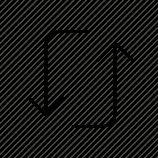 loop, refresh, refreshing, sync icon