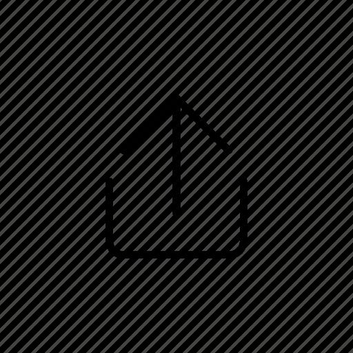submit, up arrow, upload, uploader, uploading icon