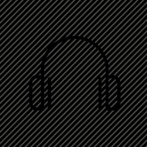 audio, headphone, headphones, listen, music, song icon