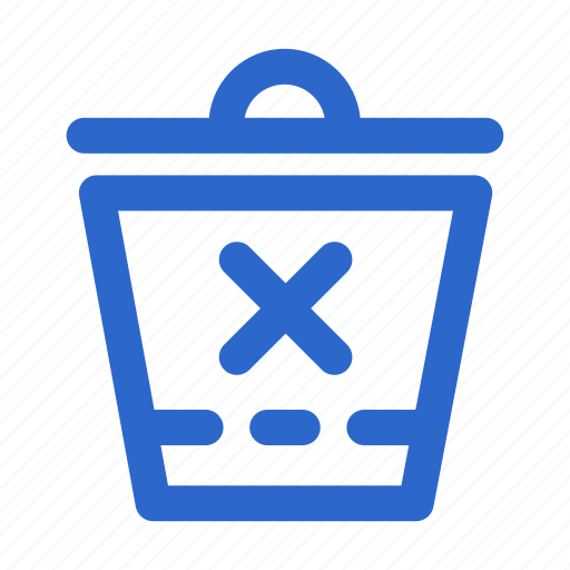 bin, delete, garbage, interface, recycle, rubbish, trash icon