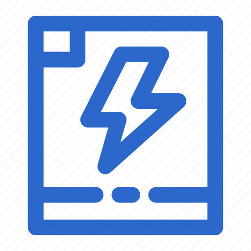 battery, bolt, electric, electricity, energy, lighting, power icon