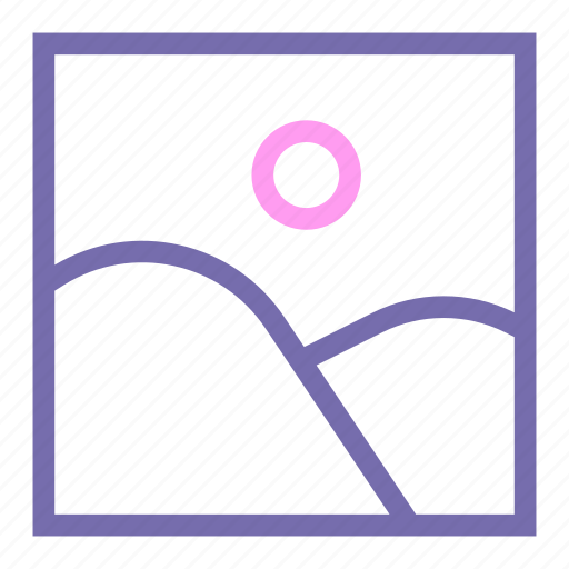 expanded, gallery, line, photo, picture, ui icon